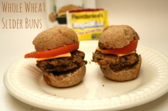 Whole Wheat Slider Buns Recipe With Fleischmanns