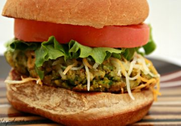 Spinach and Chickpea Veggie Burger Recipe