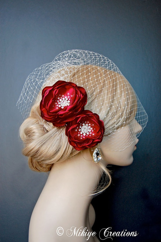 valentines day hair accessories