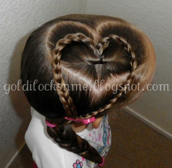 Valentine's Day Hairstyles for Kids
