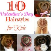 unique Valentine's Day Hairstyles for Kids