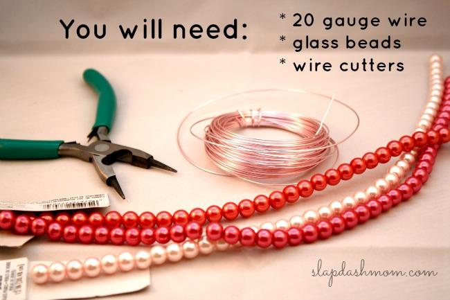 DIY Bird Nest Necklace
