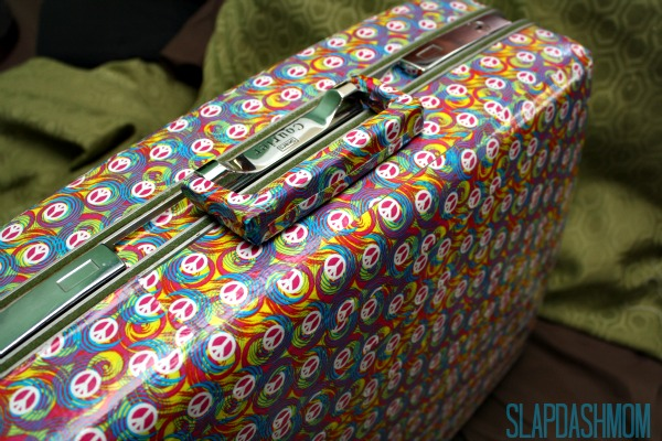 How to Make a Duct Tape Suitcase