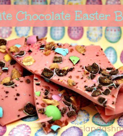 White Chocolate Easter Bark