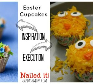 Easter Cupcakes: Nailed It