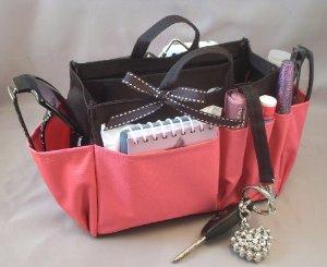 pink organizer