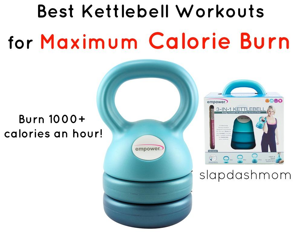 Best Kettlebell Workouts For Maximum Calorie Burn