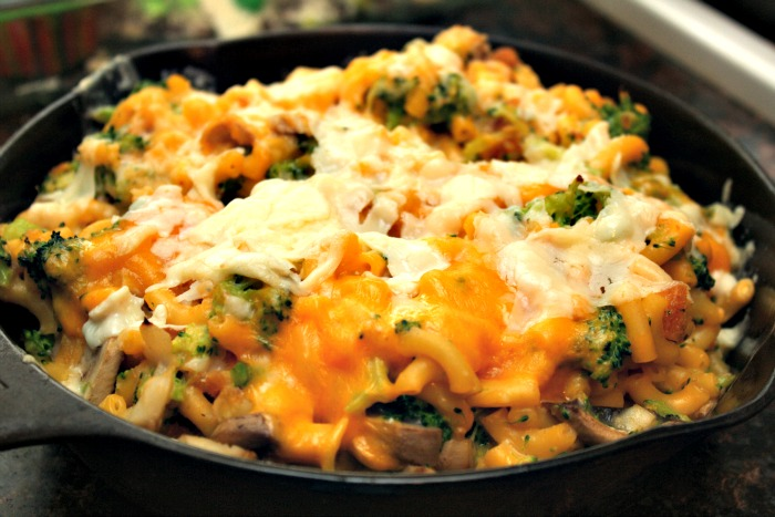 Protein packed macaroni casserole slap dash mom for Fish stick casserole