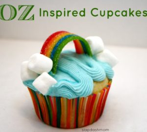 Oz Inspired Cupcakes