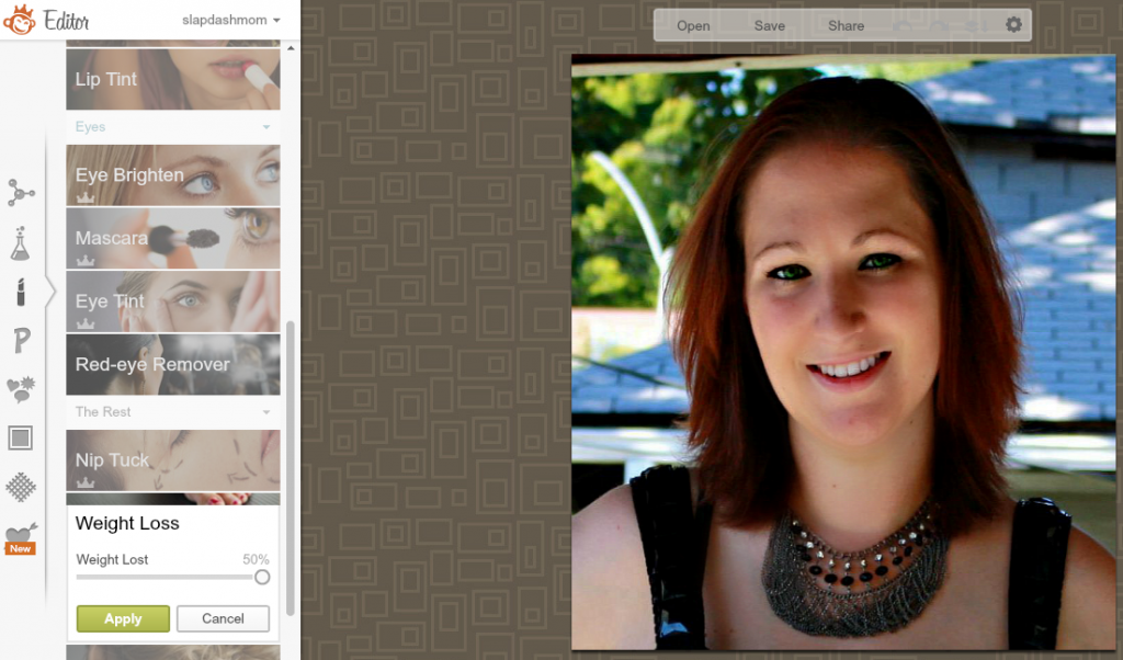 How to Airbrush Your Photos Using PicMonkey