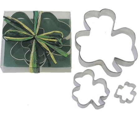 shamrock cookie cutter set