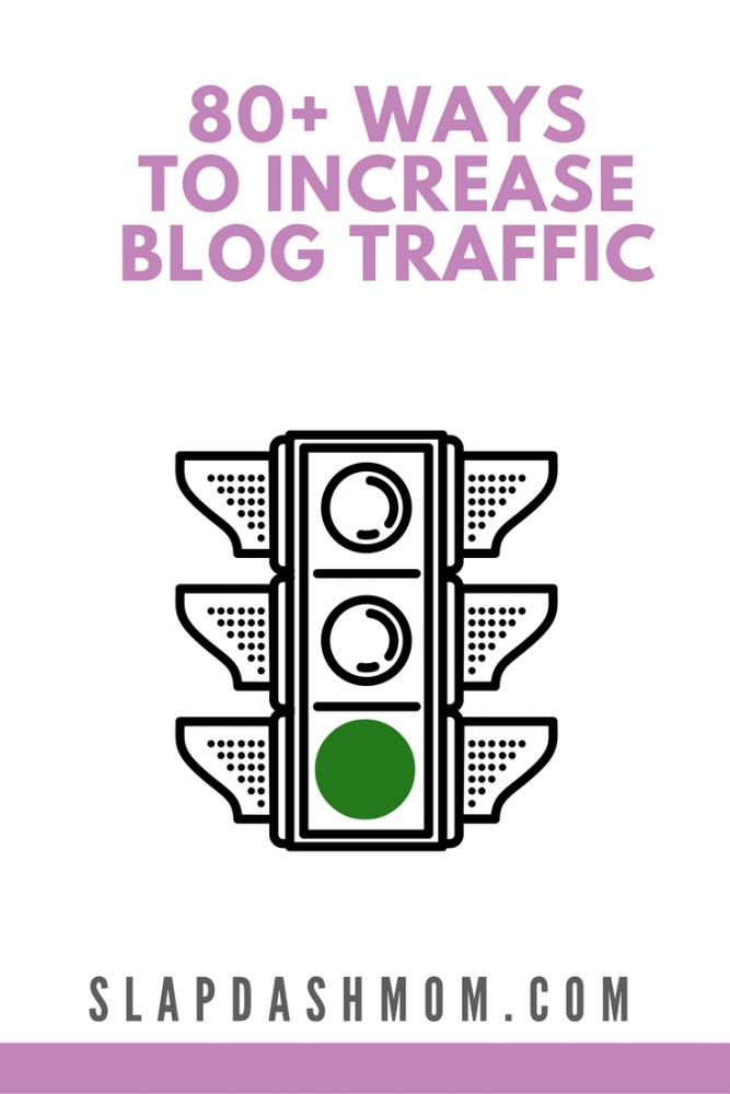 ways to increase blog traffic
