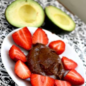 Avocado & Chocolate Mousse - 5 WW Points!!