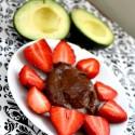 Vegan Chocolate Avocado Fruit Dip Recipe