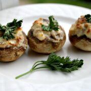 Feta Stuffed Mushrooms Recipe