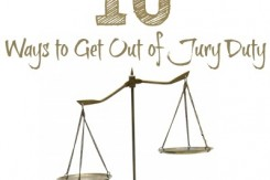 Ways to Get Out of Jury Duty