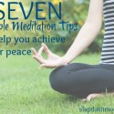Simple Meditation Tips