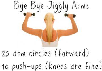 Bye Bye Jiggly Arms Workout