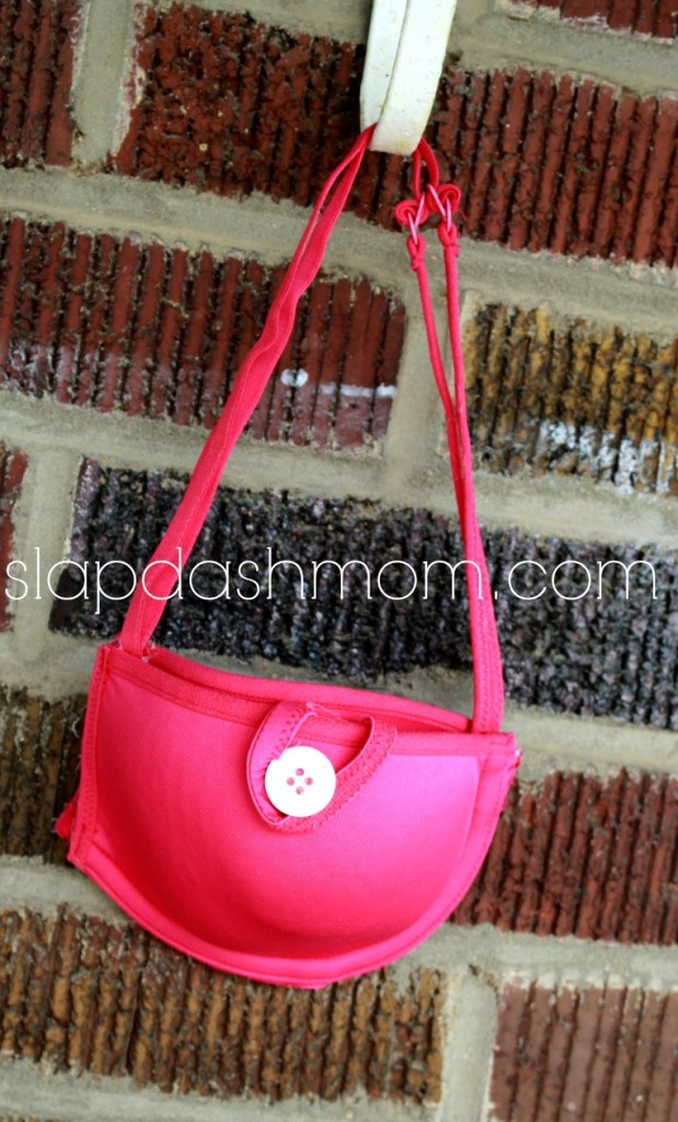 diy bra purse tutorial