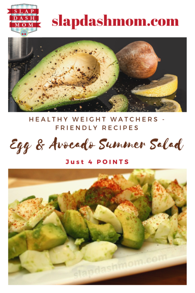 Egg & Avocado Summer Salad