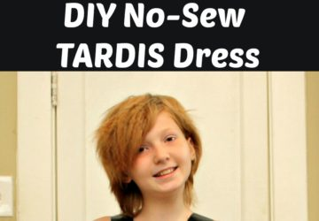 DIY Tardis dress tutorial