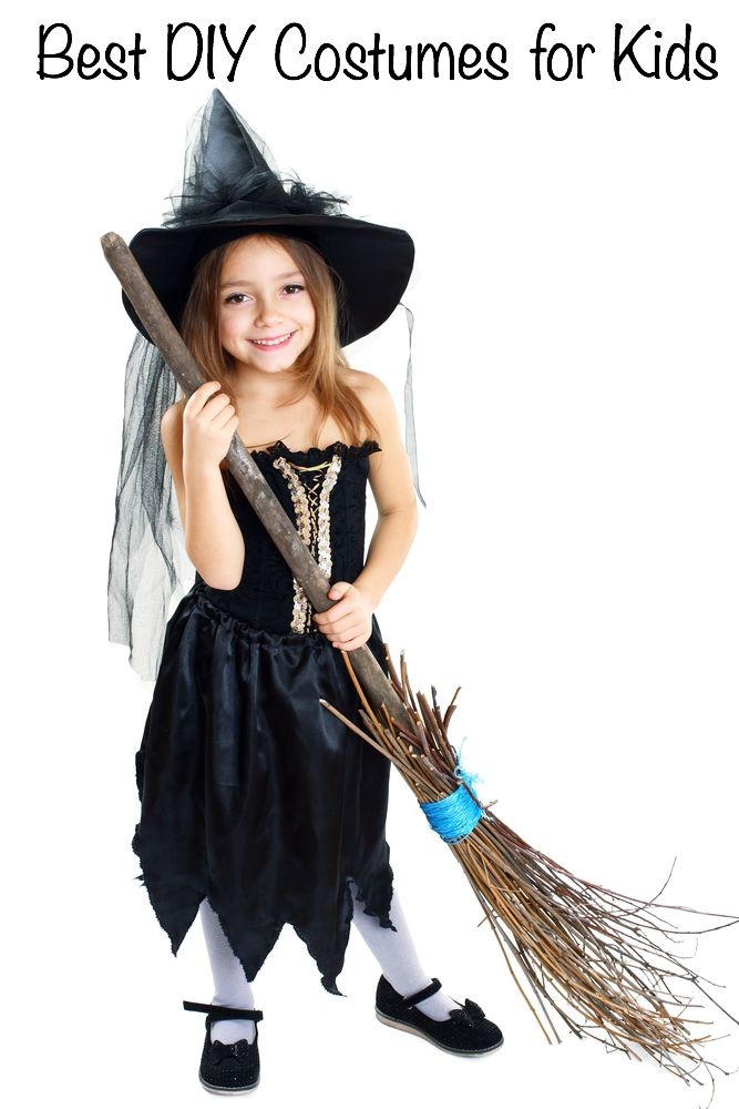 50 easy diy halloween costumes for kids for Quick halloween costumes for toddlers