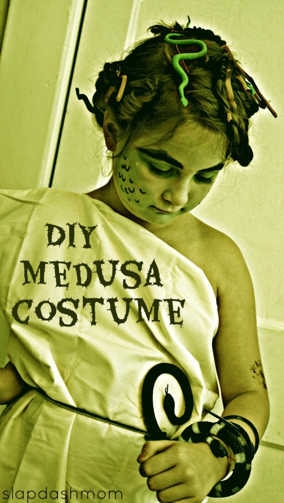 Medusa Costume and Makeup Tutorial