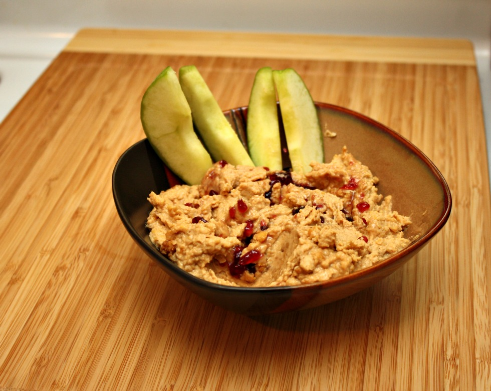 Healthy Peanut Butter Hummus Recipe