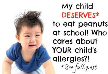 peanut allergy debate