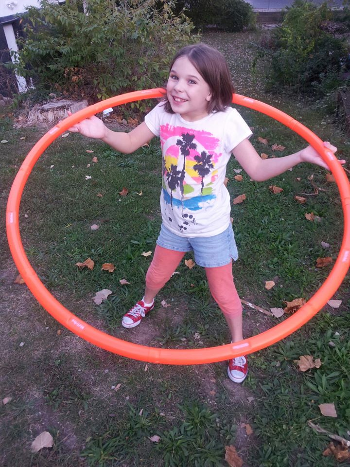 Exercising With Kids with #Hoopersize