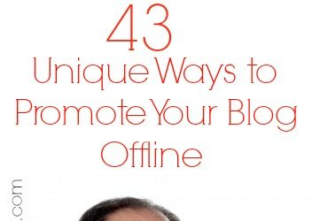 Ways to Promote Your Blog Offline