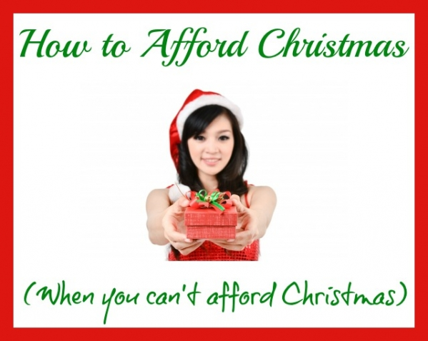 how to afford christmas