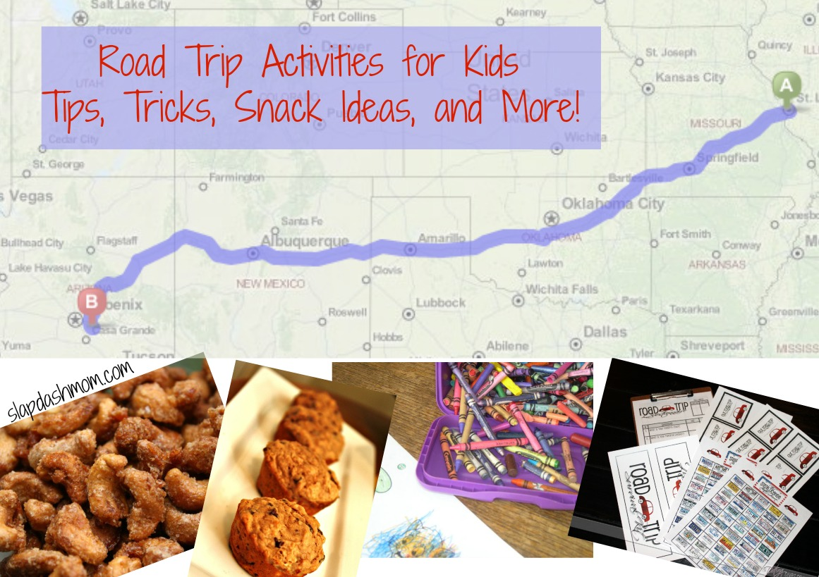 Road Trip Activities for Kids + Tips, Tricks, Snack Ideas, and More!