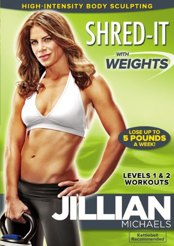 Jillian Michaels Shred It With Weights DVD Review
