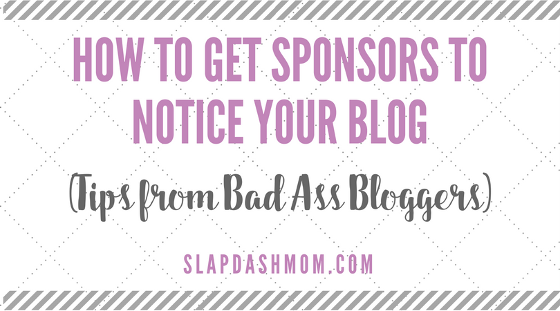 How to Get Sponsors to Notice Your Blog
