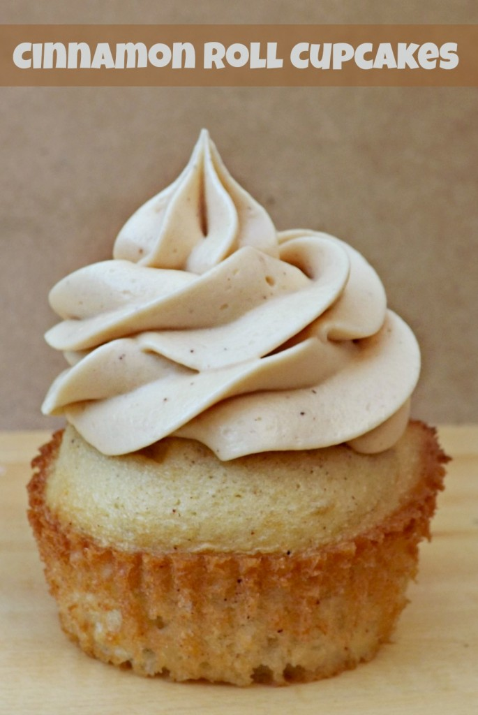 Cinnamon Roll Cupcake Recipe