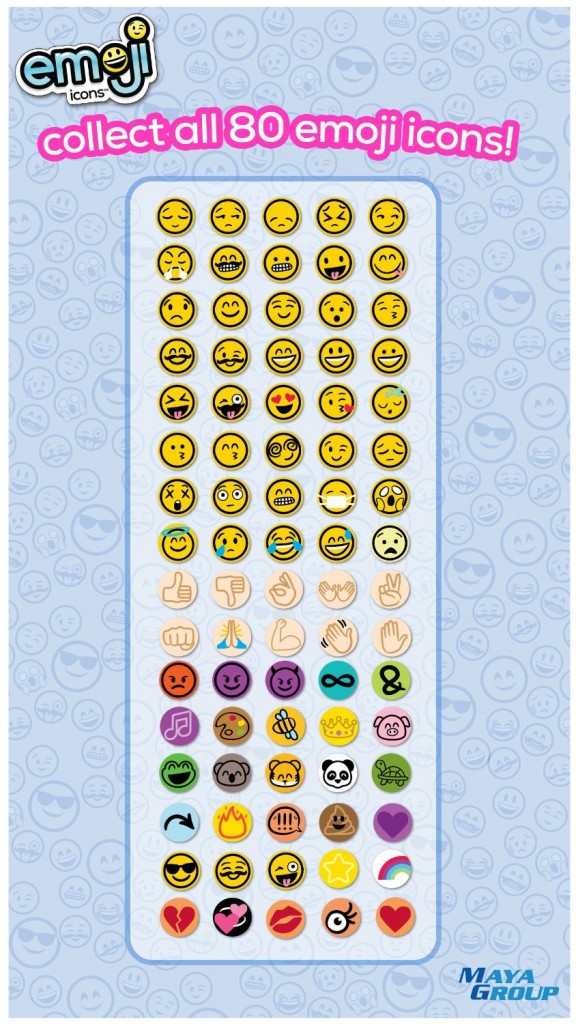 Emoji Icons On FacebookEmoji Single Icons