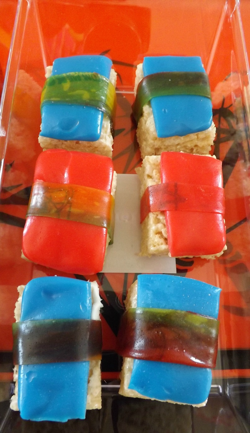 Candy Sushi Recipes