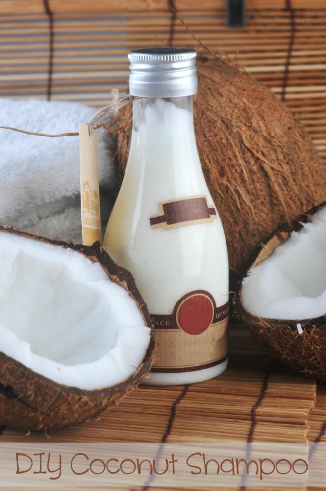 how to make coconut shampoo