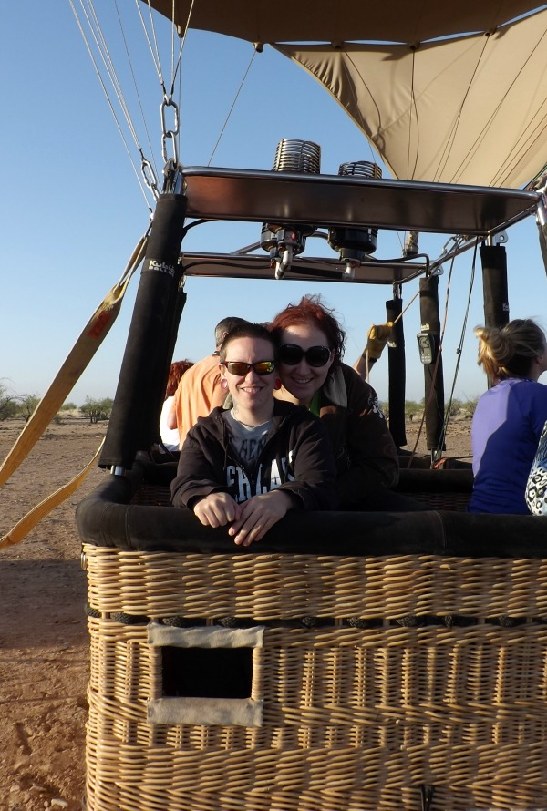 hot air balloon ride arizona
