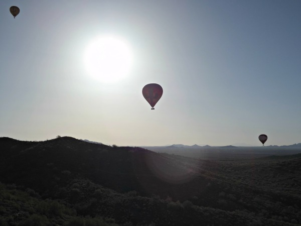 Our Arizona Balloon Safari
