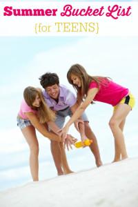 summer bucket list teens