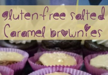 Gluten Free Salted Caramel Brownies