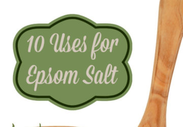 Uses for Epsom Salt