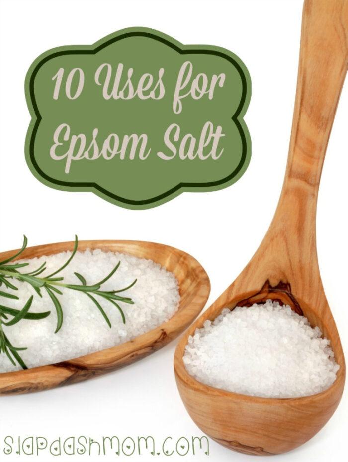 Uses for Epsom Salt