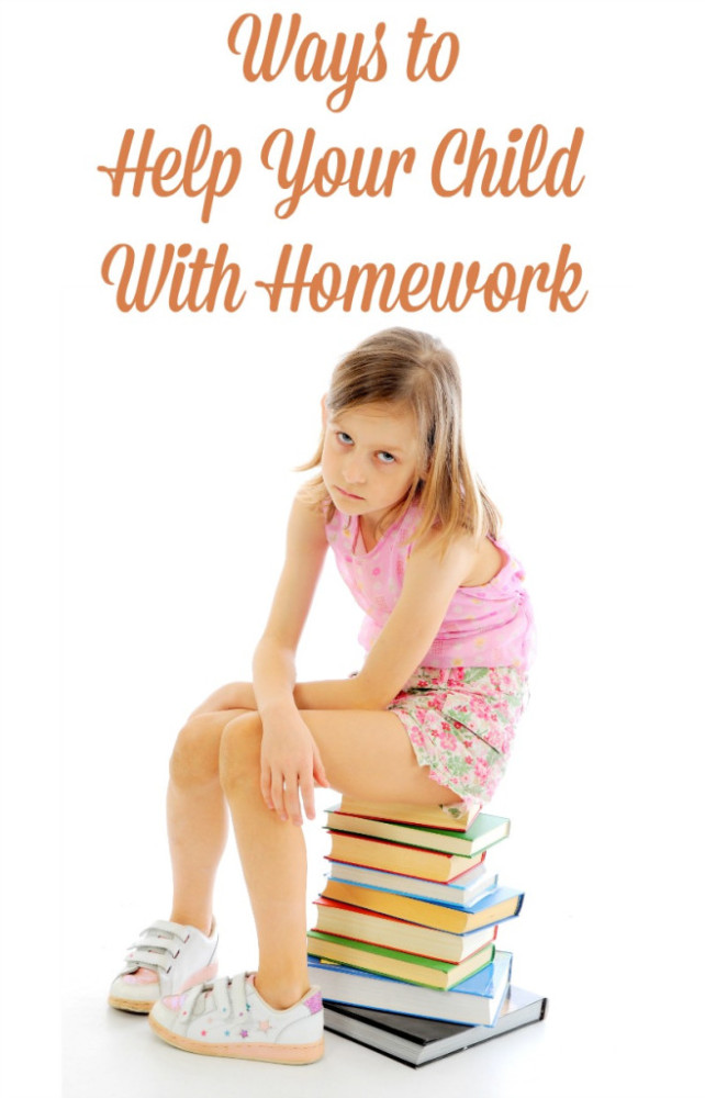 Ways to Help Your Child With Homework