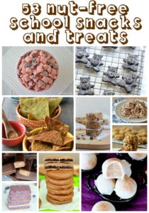 Nut Free School Snacks and Treats