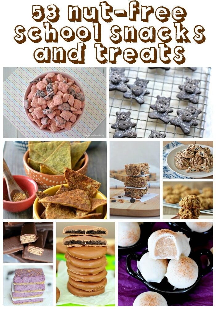 Nut Free School Snacks and Treats