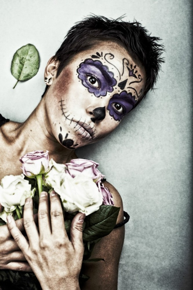 Sugar Skull Makeup Ideas Tutorials