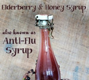Elderberry and Honey Syrup